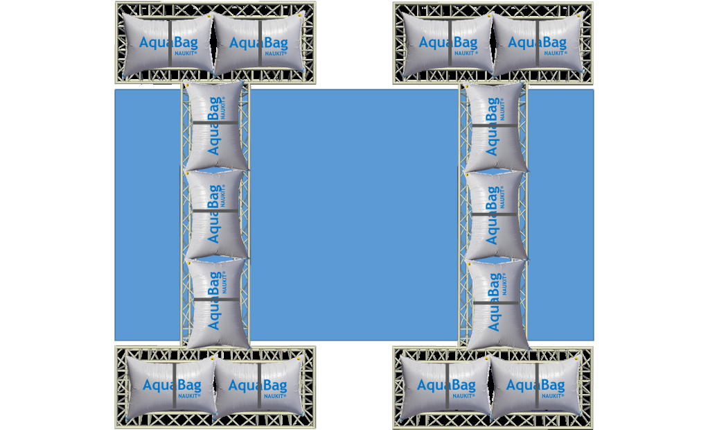 Système de flottaison de mobil-home
